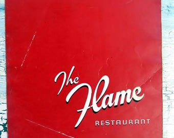 S The Flame Restaurant Menu