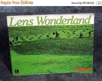 Lens Wonderland Canon FD Lens Guide Book 1982 Original Lenses Booklet