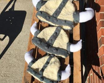 Viking knit hats