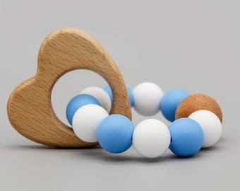 "Teether / toy ""Herzerl Bua"""