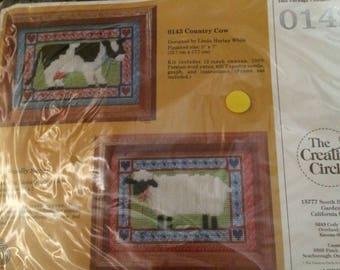 Vintage Unopened The Creative Circle Needlepoint Kit Woolly Sheep 0142