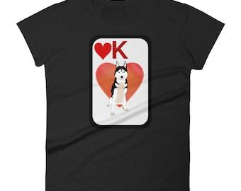 Siberian husky t-shirt - husky mom - husky - husky shirt - husky gifts - siberian husky shirt - husky lover - husky t-shirt