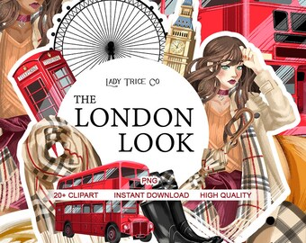 The London Look Clip Art Set