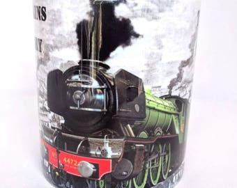 Flying Scotsman Steam Train Coffee Tea MUG CUP - Premium Quality