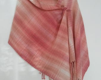 Handwoven handmade scarf shawl wrap