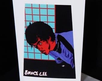 Bruce Lee Card