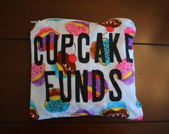 Cupcake Funds Bag