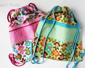 Personalized bags bag, backpack bag, backpack bag child, backpack bag girl, backpack, school stock exchange, pool bag