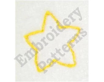 Baby Star - Machine Embroidery Design