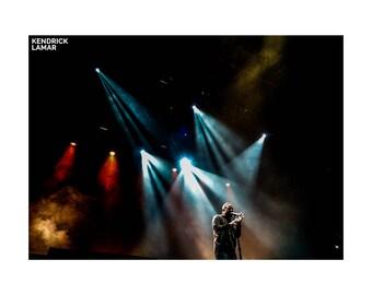 Kendrick Lamar Tour Poster | Kendrick Lamar Poster Art