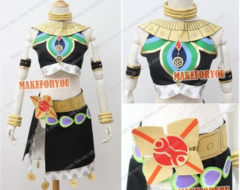 Women Breath Wild Riju Cosplay Costume whole