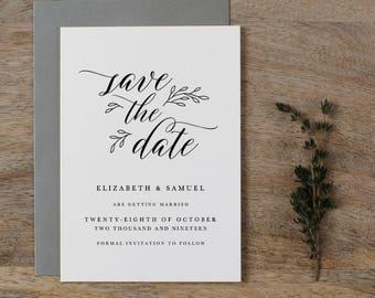 Editable Save The Date Template, Printable Save The Dates, DIY Save The Date, Save The Dates Printable, Save The Date Template - KPC04_101