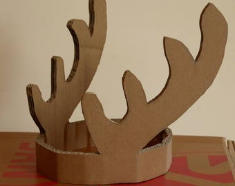 """Crown """"deer"""" painting"""