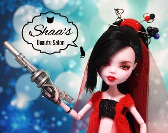 OOAK Monster High Doll Draculaura / Repaint & Costume