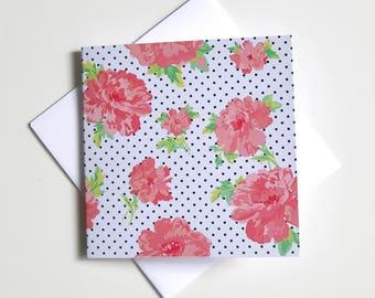 Greeting Card - Mini / Flower Spot