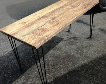 Industrial chic desk/table