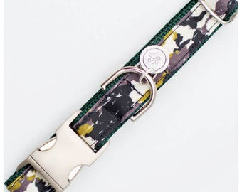 Green Camo Dog Collar