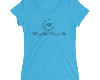 Racing Wife Racing Life Logo short sleeve t-shirt