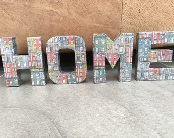 Handmade Decoupage Home Decoration