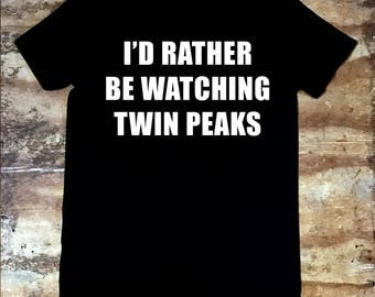 I'd Rather Be Watching Twin Peaks