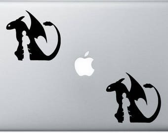 How To Train Your Dragon, Decal , Sticker , Laptop , Ipad , Car , Truck
