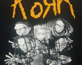 Korn tour shirt
