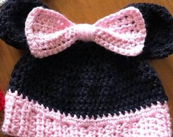 Baby Minnie Mouse beanie