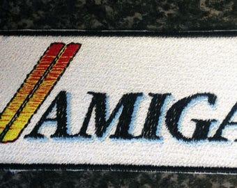 Amiga Logo custom embroidered patch