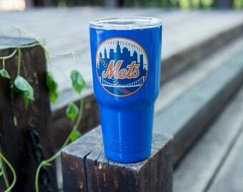 New York Mets Yeti Cup New York Mets Birthday Party New York Mets Cup New York Mets Personalized New York Mets Gift New York Mets Decal