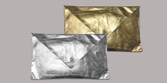 Envelope from Jacron gold or silver Evening Bag