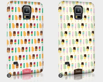Ice Cream Lolly Summer Phone Case For HTC One Full Wrap Hard Cover Gift Popsicle Flavours Almond Funny