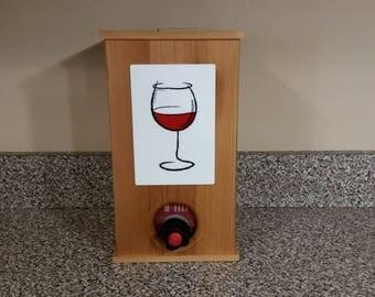 Barn Wood Wine Box