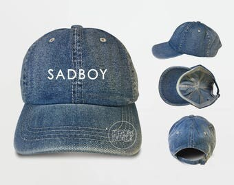 Sad Boy Baseball Cap Sad Boy Caps Tumblr Caps