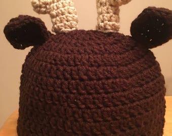Infant Moose Hat