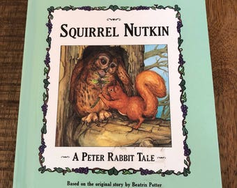 Beatrix Potter Squirrel Nutkin A Peter Rabbit Tale Hardcover Book