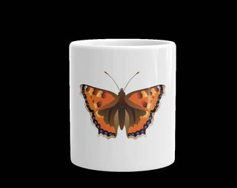 Butterfly coffee mug-Butterfly tea mug-coffee mug-tea mug-tea cup-coffee cup-gift mug cup-white ceramic coffee tea cup mug
