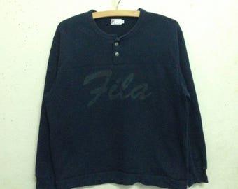 Vintage 90's Fila Sweatshirts Rare Size S