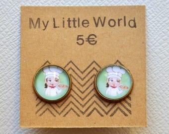 Petite Italian earrings