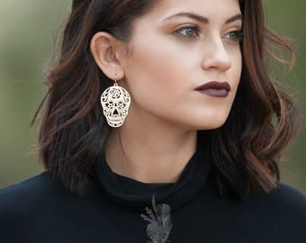 The Skully earrings