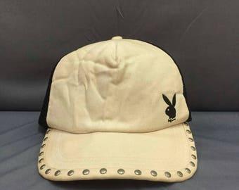 Playboy Trucker Baseball Cap One Size Fit All