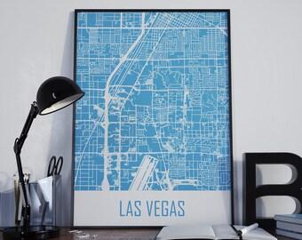 Las Vegas Map Las Vegas Travel Map Las Vegas Street Map Las Vegas City Map Las Vegas Map Poster Las Vegas Map Photo Las Vegas Map Print