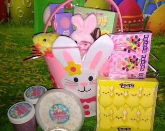Large Easter Slime Basket