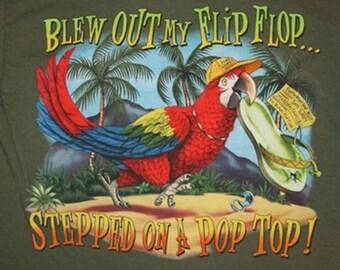 Blew Out My Flip-Flop Cross Stitch Pattern***LOOK***