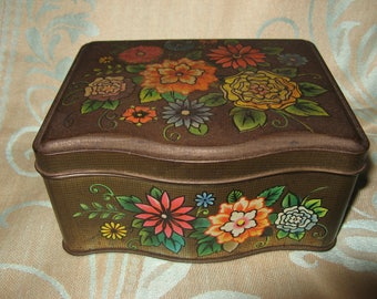 Vintage Tin from 1960s - 1970s NOCK & KIRBY CONFECTIONARY