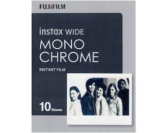 Fujifilm Instax Wide Mono Chrome 10 sheets