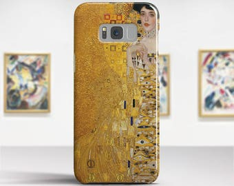 """Gustav Klimt """"Portrait of Adele Bloch-Bauer"""" Samsung Galaxy S7 Case Google Pixel 2 Case LG V30 case Galaxy A5 2017 Case. Art phone cases."""