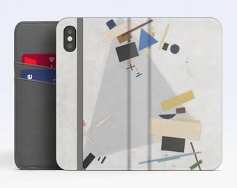 "Vasily Kandinsky, ""Dynamic Suprematism"". iPhone X Flip case, iPhone 8 Flip case, iPhone 7 Flip case, iPhone 6 Flip case. Samsung Flip cases."