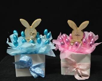 Easter Rabbit Decoration Bouquet