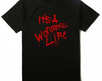 It's a Wonderfull Life Exorcist 3 Movie Unisex T Shirt Many Sizes Colors Custom Horror Halloween Merch Massacre