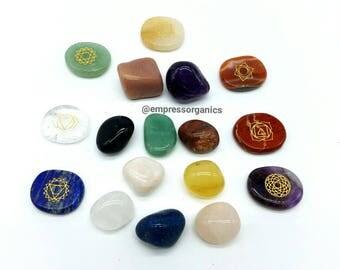 10 Piece Tumbled Gemstone Set